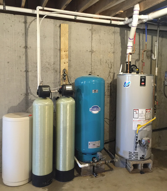 New Water Tank & Water Conditioning System in Burlington County, NJ